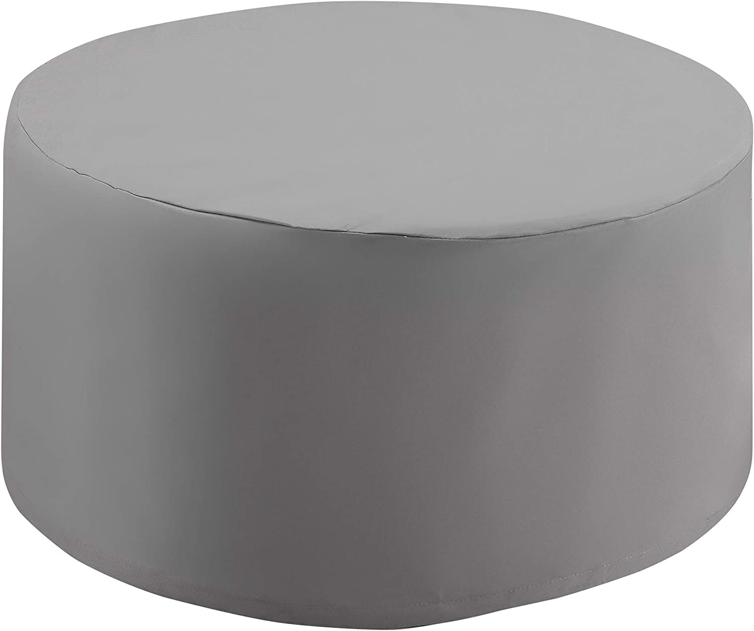 Crosley Furniture CO7508-GY Heavy-Gauge Reinforced Vinyl Cover for Catalina Round Table, Gray