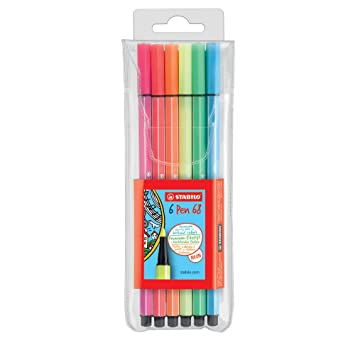 Stabilo Pen 68 Rotuladores Neon Colors colores surtidos ...
