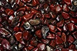 Fantasia Materials: 11 lbs Tumbled Brecciated Jasper ''AA'' Grade Stones from Africa - Large 1'' Bulk Natural Polished Gemstone Supplies for Crafts, Reiki, Wicca and Energy Crystal Healing