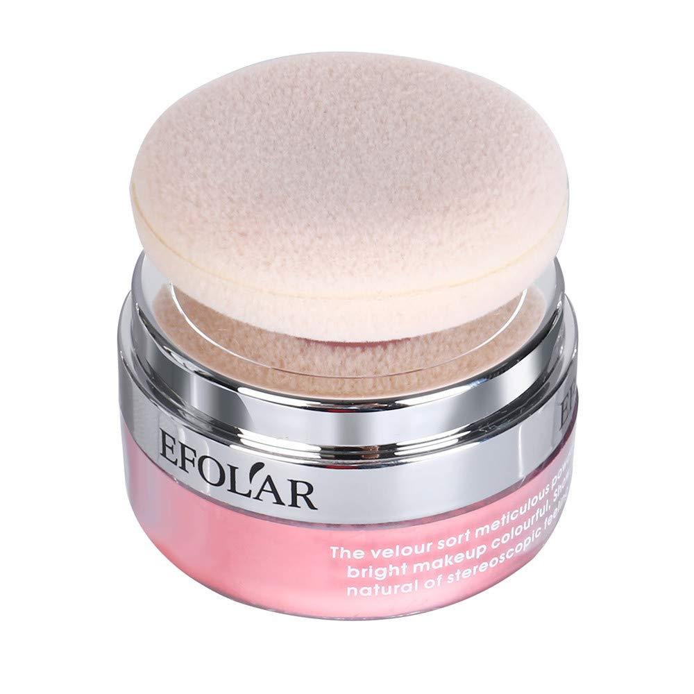 Fabal Professional Cosmetic Three-dimensional Contour Face blush Powder Makeup Blusher Palette (C)