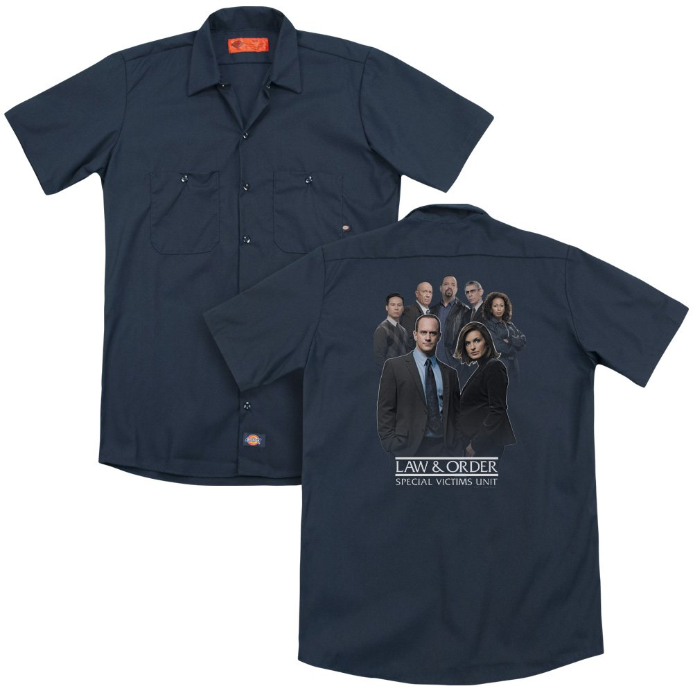 Law And Order Svu Team Adult Work Shirt