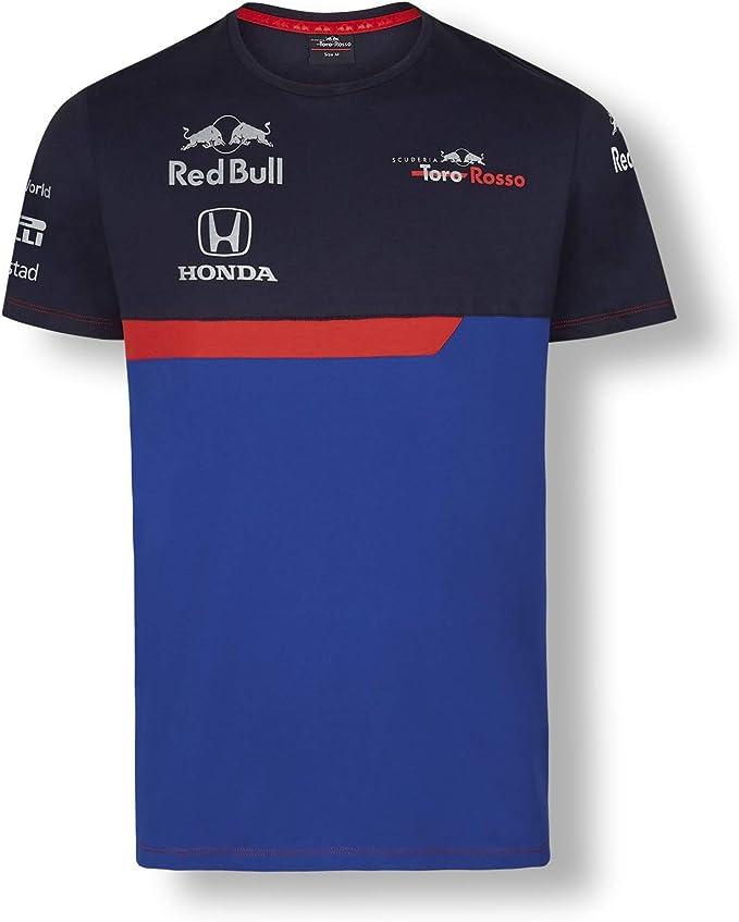 Red Bull Toro Rosso Official Teamline Camiseta, Azul Niños 14 ...