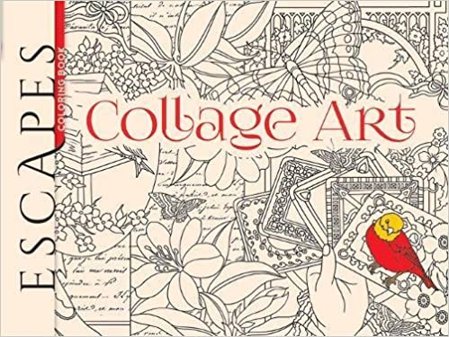 Escapes Collage Art Coloring Book (Adult Coloring): Amazon ...