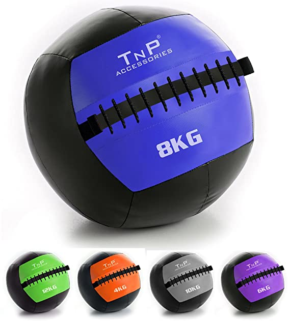 009c318aa TNP Accessories® Wall Ball Slam Balls - No Bounce Wallball Slamball Medicine  Crossfit Gym Boxing Fitness Training Ball (8)  Amazon.co.uk  Sports    Outdoors