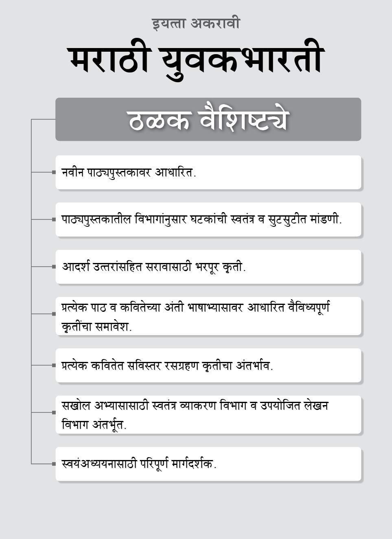 Std 11th Marathi Yuvakbharati Notes Book | FYJC Marathi