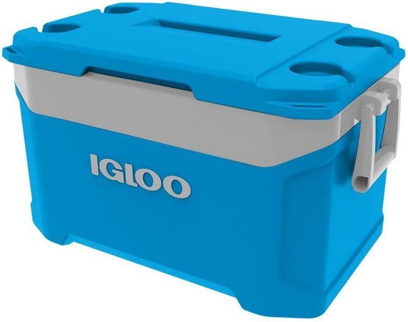 Camping Sport Frigo portatile Latitude 47 litri 63 x 37 x 38 cm colore: Ciano Mini Igloo