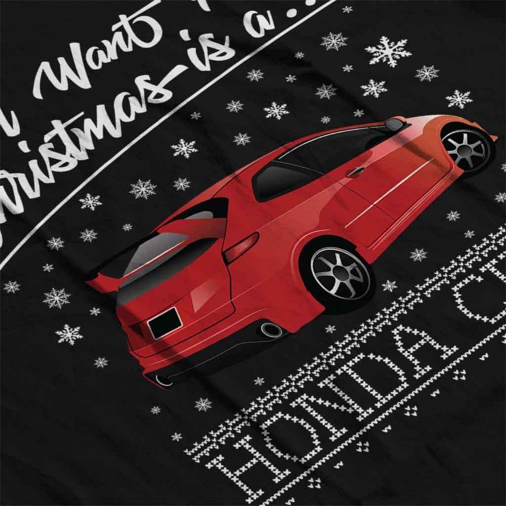 All I Want for Christmas is A Honda Civic Kids Sweatshirt