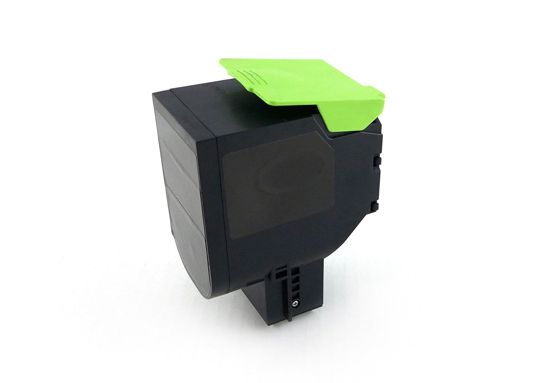 Green2Print Toner Nero, 1000 Pagine, sostituisce Lexmark 70C20K0, 702K, 70C20KE, 702KE, Toner per Lexmark CS310N, CS310DN, CS410N, CS410DN, CS410DTN, CS510DE, CS510DTE G2P5637