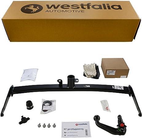 Westfalia Abnehmbare Anhängerkupplung Für Vw Golf 7 Variant Bj Ab 06 2014 Im Set Mit 13 Poligem Fahrzeugspezifischen Westfalia Elektrosatz Auto