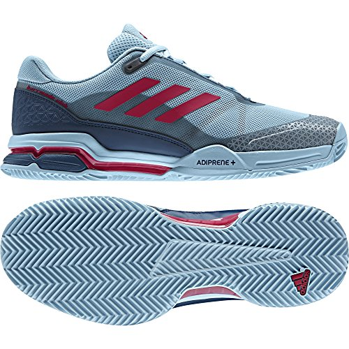 adidas Barricade Club, Zapatillas de Tenis para Hombre Varios colores (Azuhie / Rosene / Azunoc)