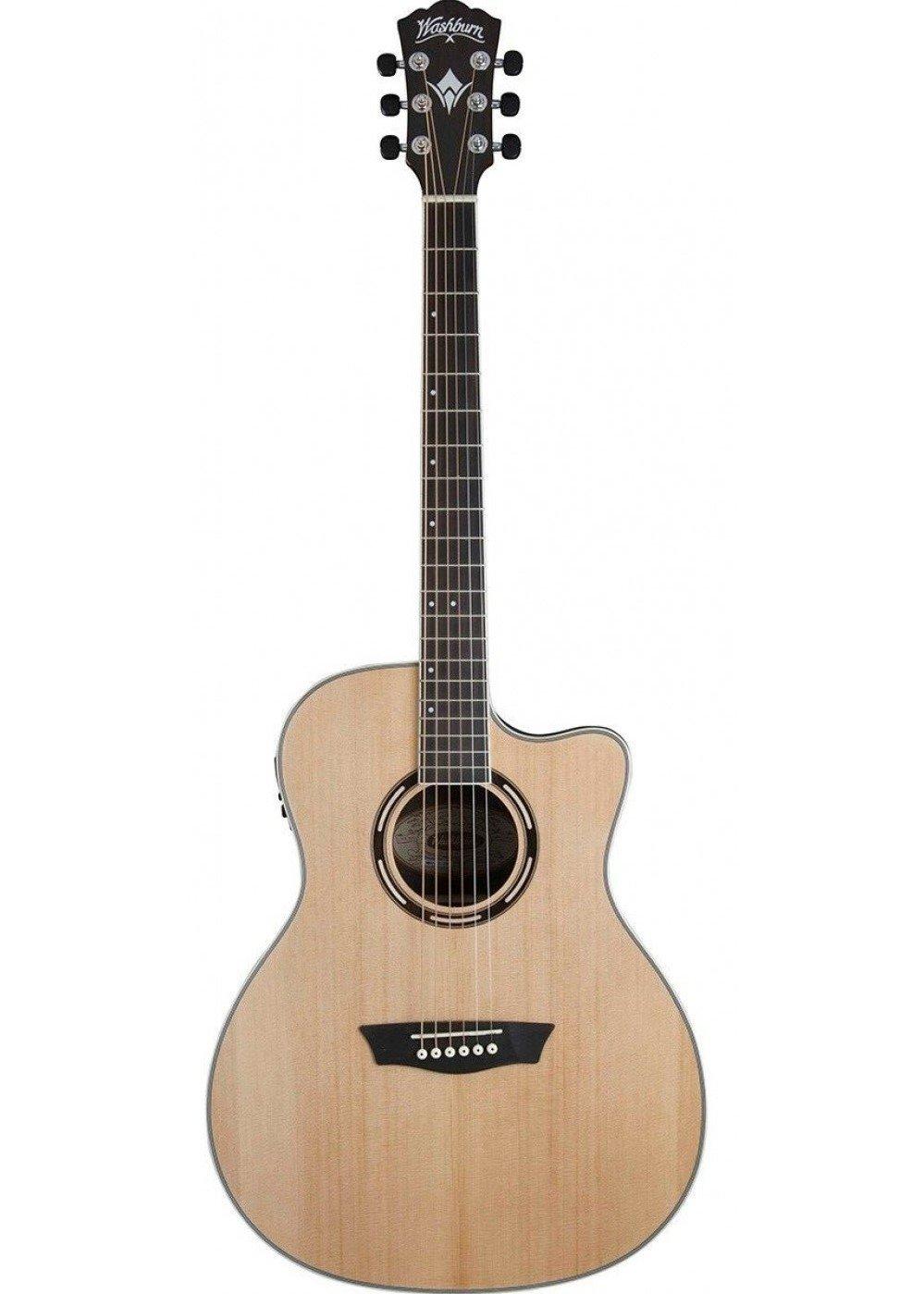 Washburn AG70CEK-A Apprentice Series Guitarra eléctrica acústica ...