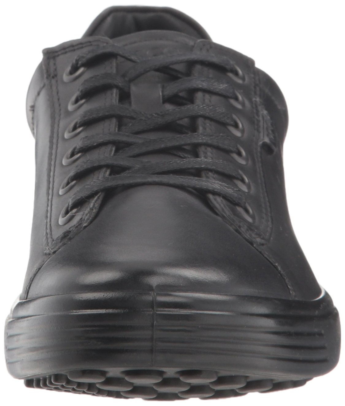 ECCO Women's Soft Sneaker B0775361HP 40 M EU (9-9.5 US)|Black/Black