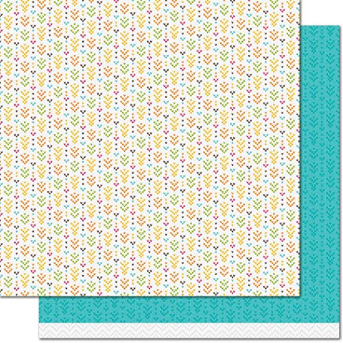 - Lawn Fawn LF1729 Table Runner 12x12 Patterned Paper - 12 Pack