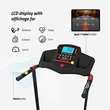 TechFit MT95 Cinta de Correr Eléctrica Motorizada Plegable ...