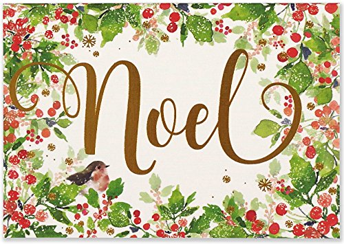 Festive Noel Small Boxed Holiday Cards (Christmas Cards, Greeting Cards)