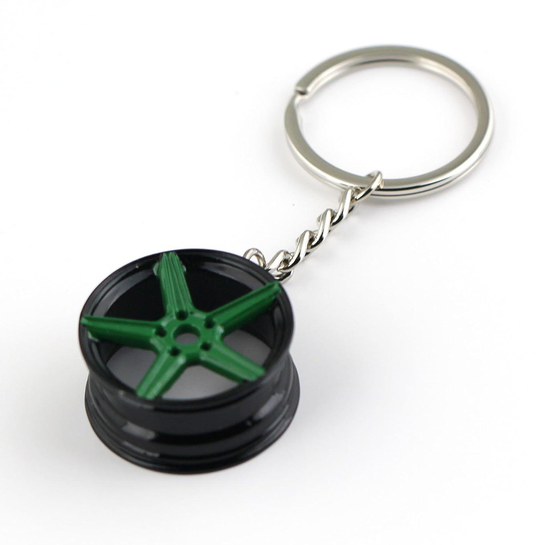maycom Creative Classic Tree Shrew Champion Wheel Auto Part for BBS Model Wheel Rim Tyre Keychain Keyring Key Chain Ring Keyfob