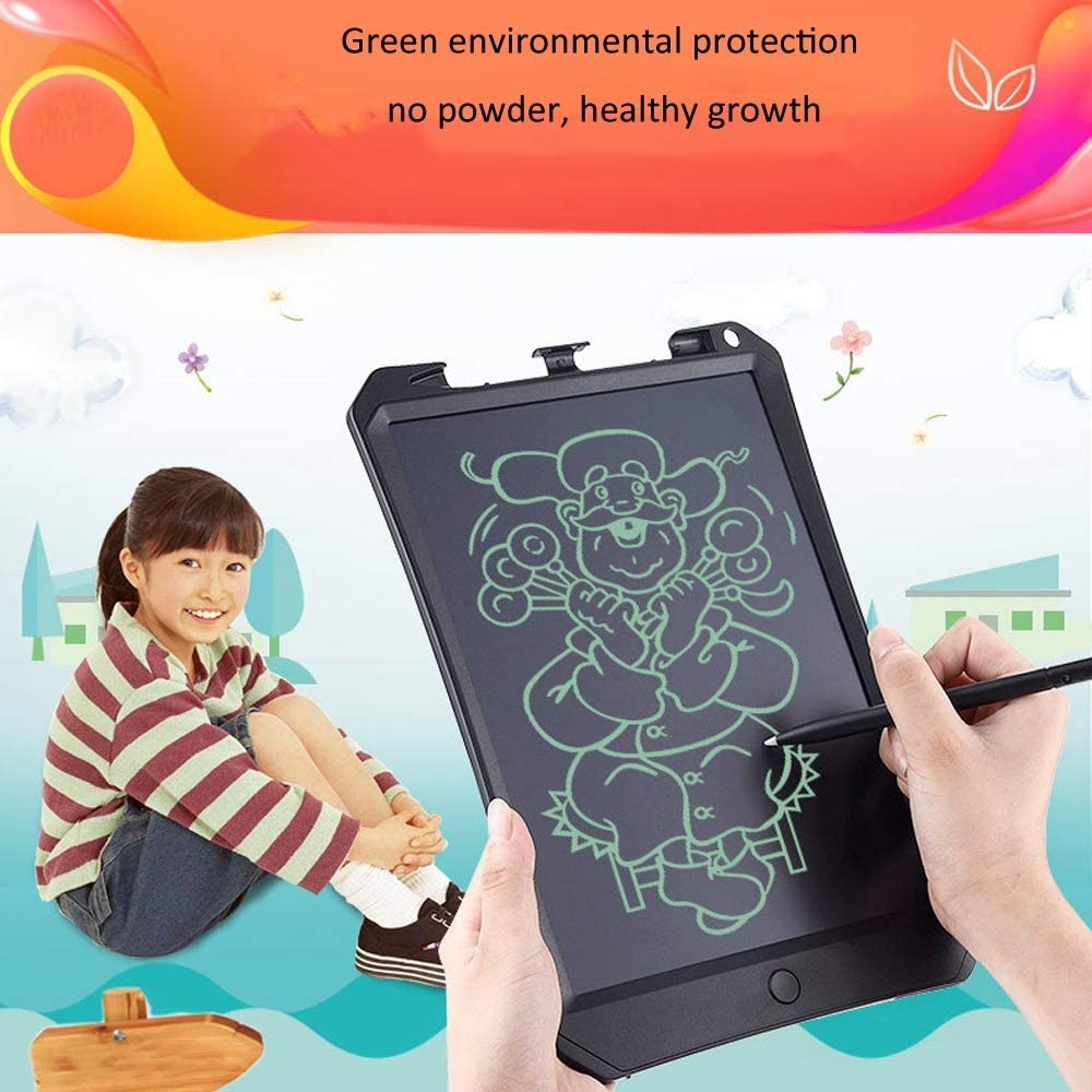 Electronics Accessories 11 inch LCD Color Screen Writing Tablet High Brightness Handwriting Drawing Sketching Graffiti Scribble Doodle Board for Home Office Writing Drawing Color : Blue Pink