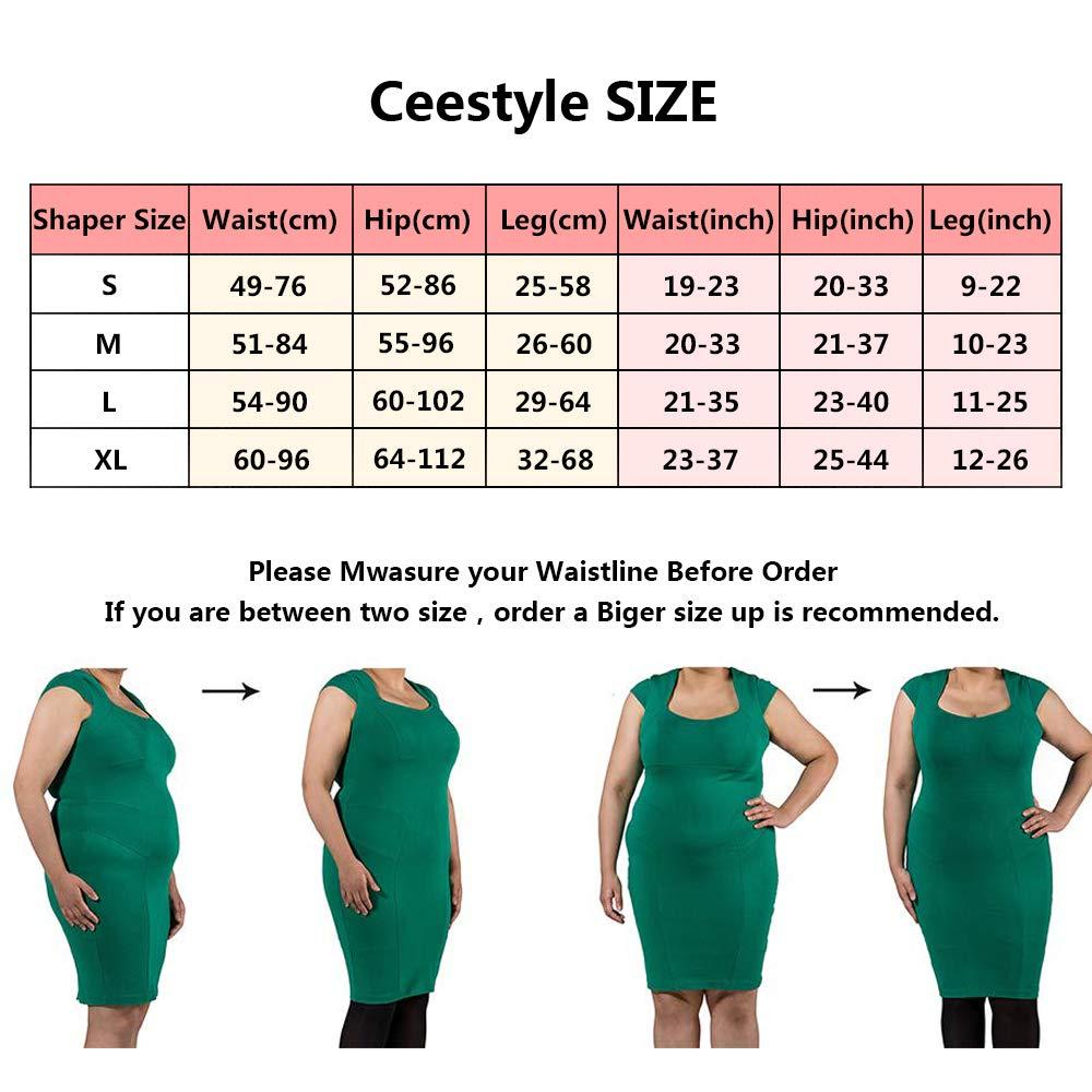 shilijia Intimo Modellante da Donna Guaina Contenitiva a Vita Alta Dimagrante Pancera Mutanda Contenitiva Fascia Elastica Shapewear da Donna