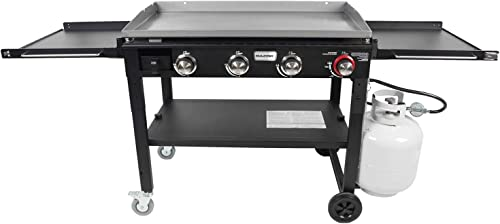 Razor-Griddle-GGC1643M-37-Inch-Outdoor-Steel-4-Burner-Propane-Gas-Grill-Griddle-with-Wheels