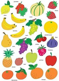 Coloriage Gommette Fruits Et Legumes.Ma Boite A Gommettes Les Fruits Et Legumes Amazon Fr Gouache