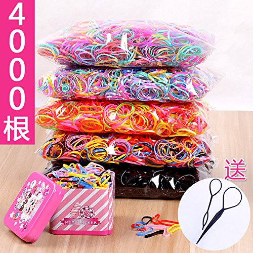 Children headdress cartoon disposable rubber band continued strong pull a small hair band hair rope braids girl girls hair accessories for women girl lady