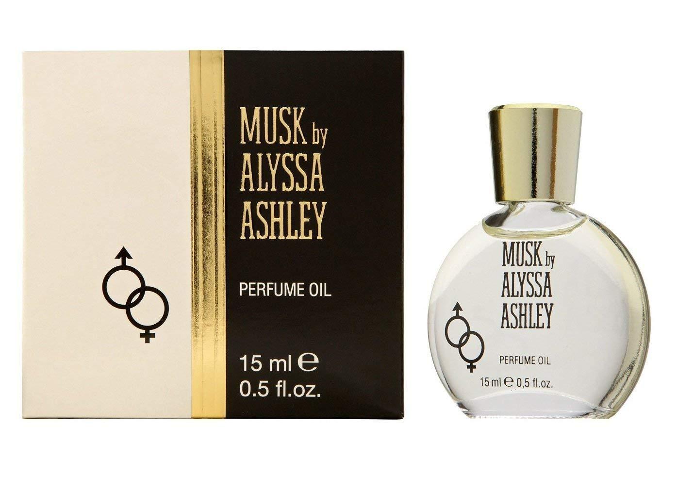 Alyssa Ashley Musk for Women Perfume Oil, 0.5-Ounce 122370