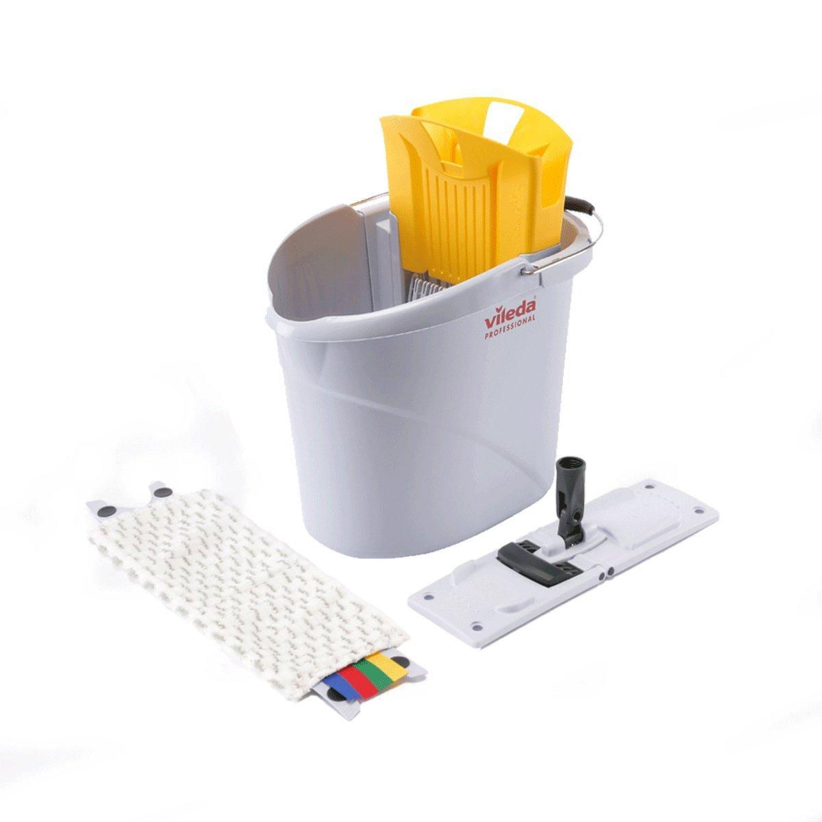 Vileda Ultraspeed Mini Starter Kit 10 Litre (Yellow) Vileda Professional