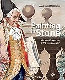 Painting in Stone. Modern Florentine Pietra Dura Mosaic.