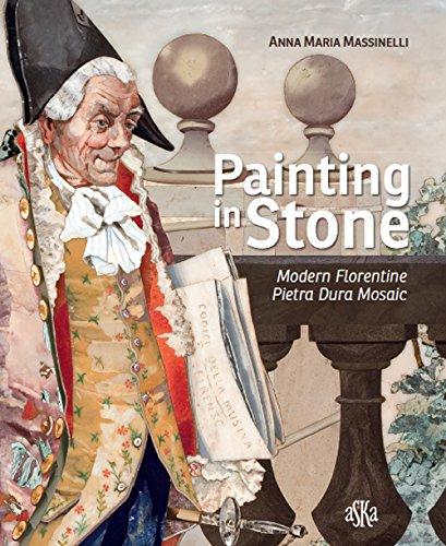 - Painting in Stone. Modern Florentine Pietra Dura Mosaic.