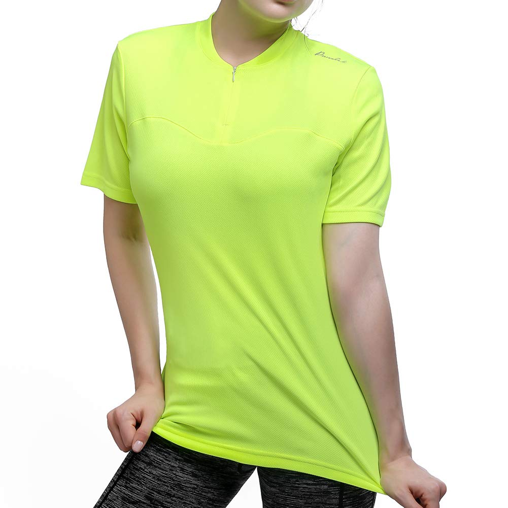 Przewalski Women s Cycling Jersey Short Sleeve Bike Shirt Quick Dry  Breathable Tops Bicycle Clothing product image 5840b10cb