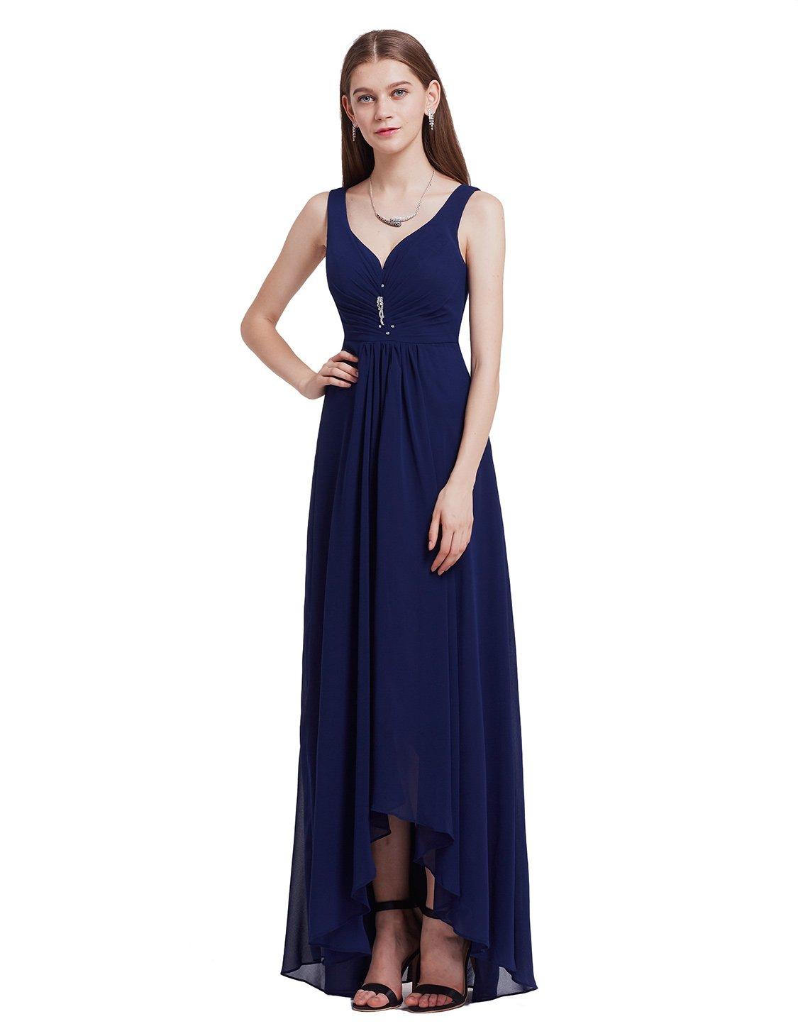 Ever-Pretty Womens Formal Black Tie Affair Dress 12 US Navy Blue