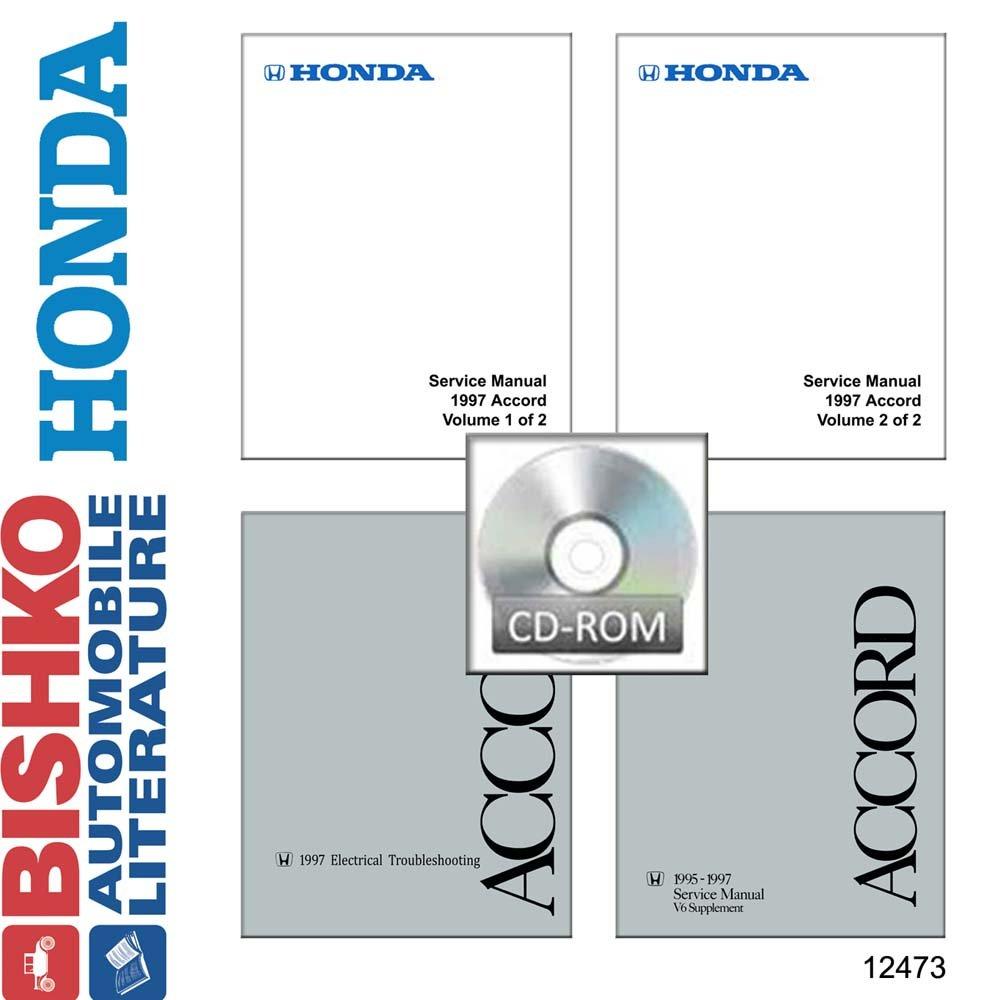 Amazon.com: bishko automotive literature 1997 Honda Accord Shop Service  Repair Manual CD Engine Drivetrain Wiring OEM: Automotive