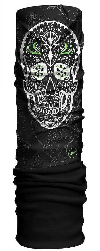 HAD Originals Unisex Youth Multi-Functional Fleece Headwear Lani Skull//Black HA210-0504