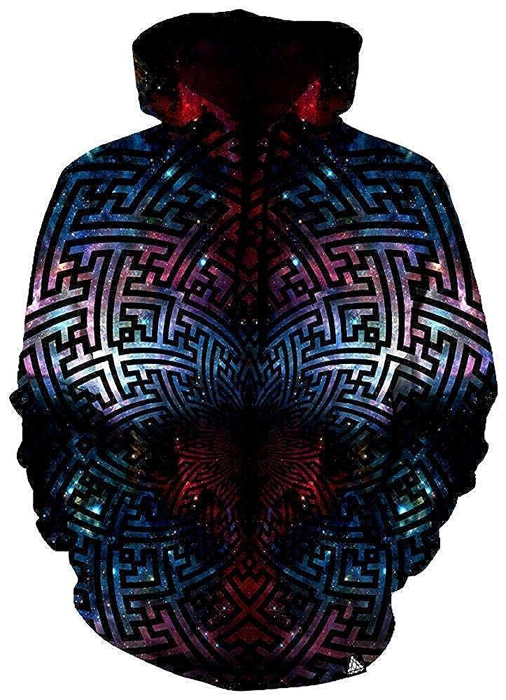 Tsipe Sacred Sayagata Galaxy Sacred Geometry Unisex Hoodie