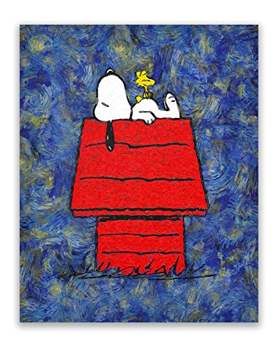 Review Snoopy Starry Night –