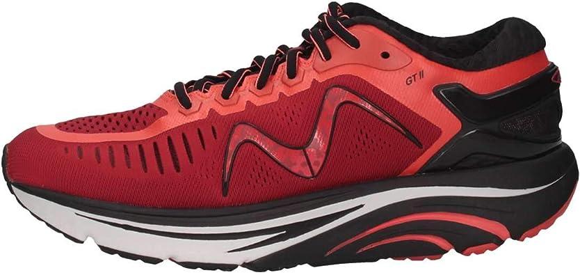 Mbt 702023-1227Y Zapatillas Hombre Rojo 44: Amazon.es: Zapatos y complementos