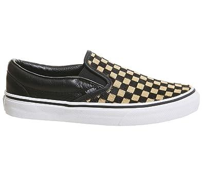aa5a37870c8 Vans - Chaussures Basket Mode - UA Classic Slip-on (Calf Hair ...