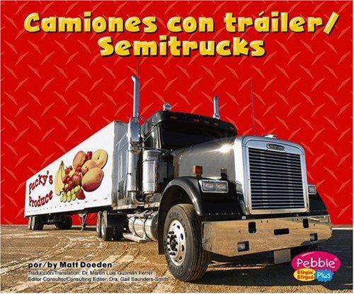 Camiones con trailer/Semitrucks (Maquinas maravillosas/Mighty Machines) by Brand: Capstone Press