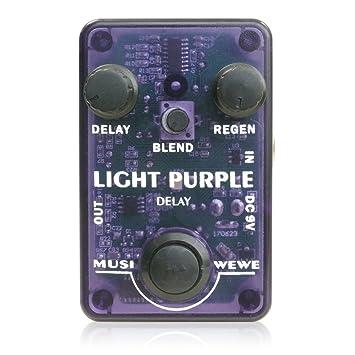 Amazon sks audio musiwewe light purple delay sks audio musiwewe light purple delay voltagebd Gallery