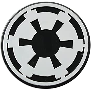Amazon Imperial Galactic Empire Logo Chrome Auto Emblem 3 X