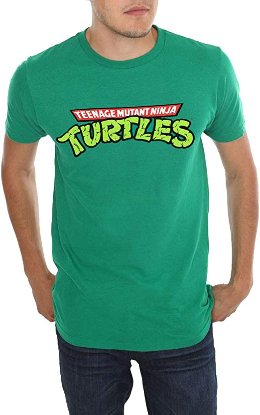 Amazon.com: Teenage Mutant Ninja Turtles Logo T-Shirt: Clothing