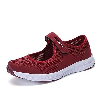 À Sandales Cureture Chaussures Légères Mode Marche Pour Femmes La De Iyvf76gbYm