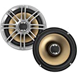"Polk Audio DB651 6.5""/6.75"" 2-Way Marine Certified db Series Car Speakers with Liquid Cooled Silk Tweeters"