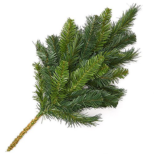 (Factory Direct Craft Artificial Evergreen Pine Sprays for Holiday Decorating - 3)