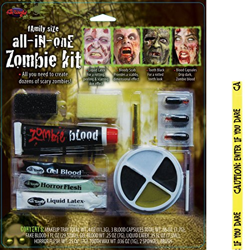 Bundle: 2 Items - Family Size All-In-One Zombie