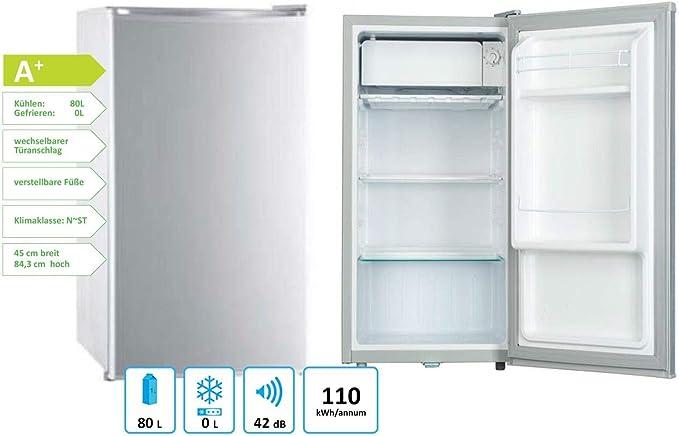 PKM KS81.0 - Refrigerador (85 cm, A+, 81 L): Amazon.es: Grandes ...