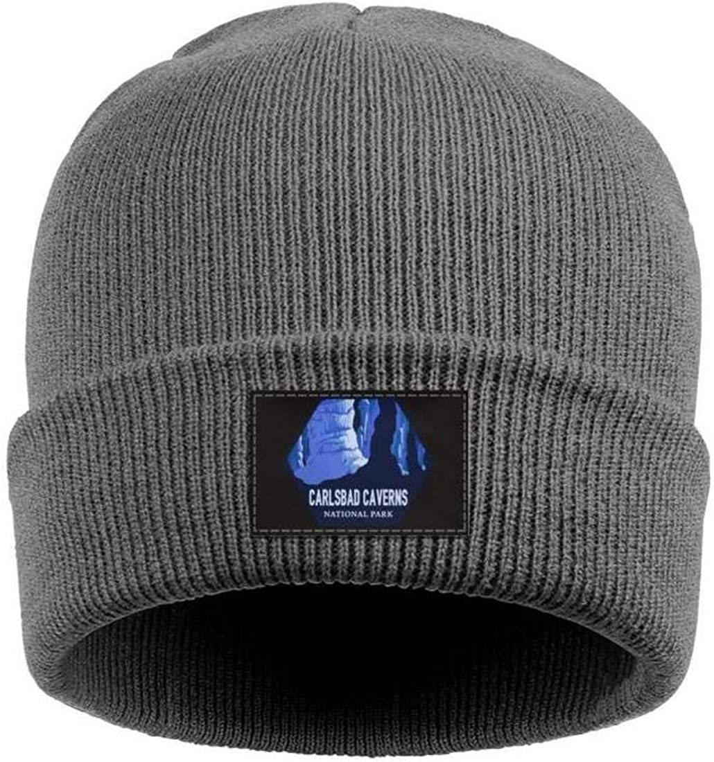 Men Knitting Beanie Yellowstone-National-Park Caps Perfect for Snowboarding