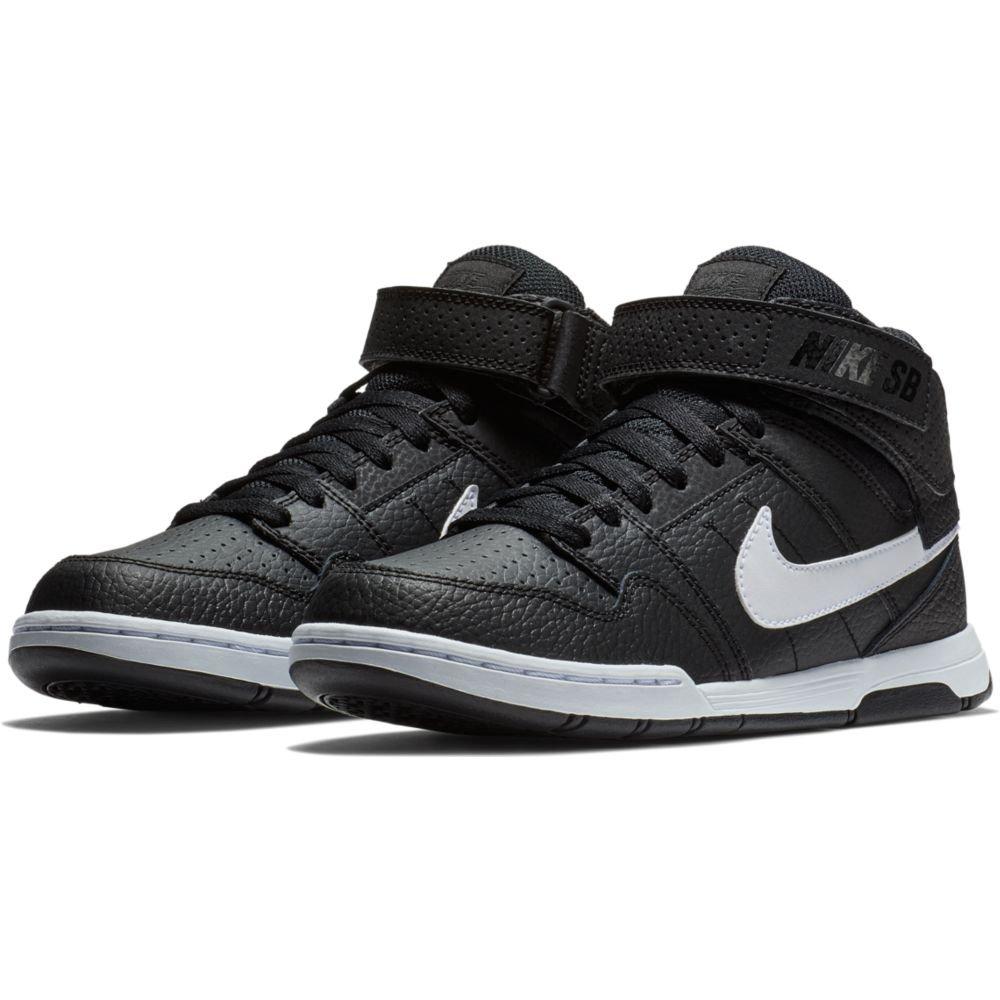 Nike Kids Mogan MID 2 JR B Black White Size 1.5