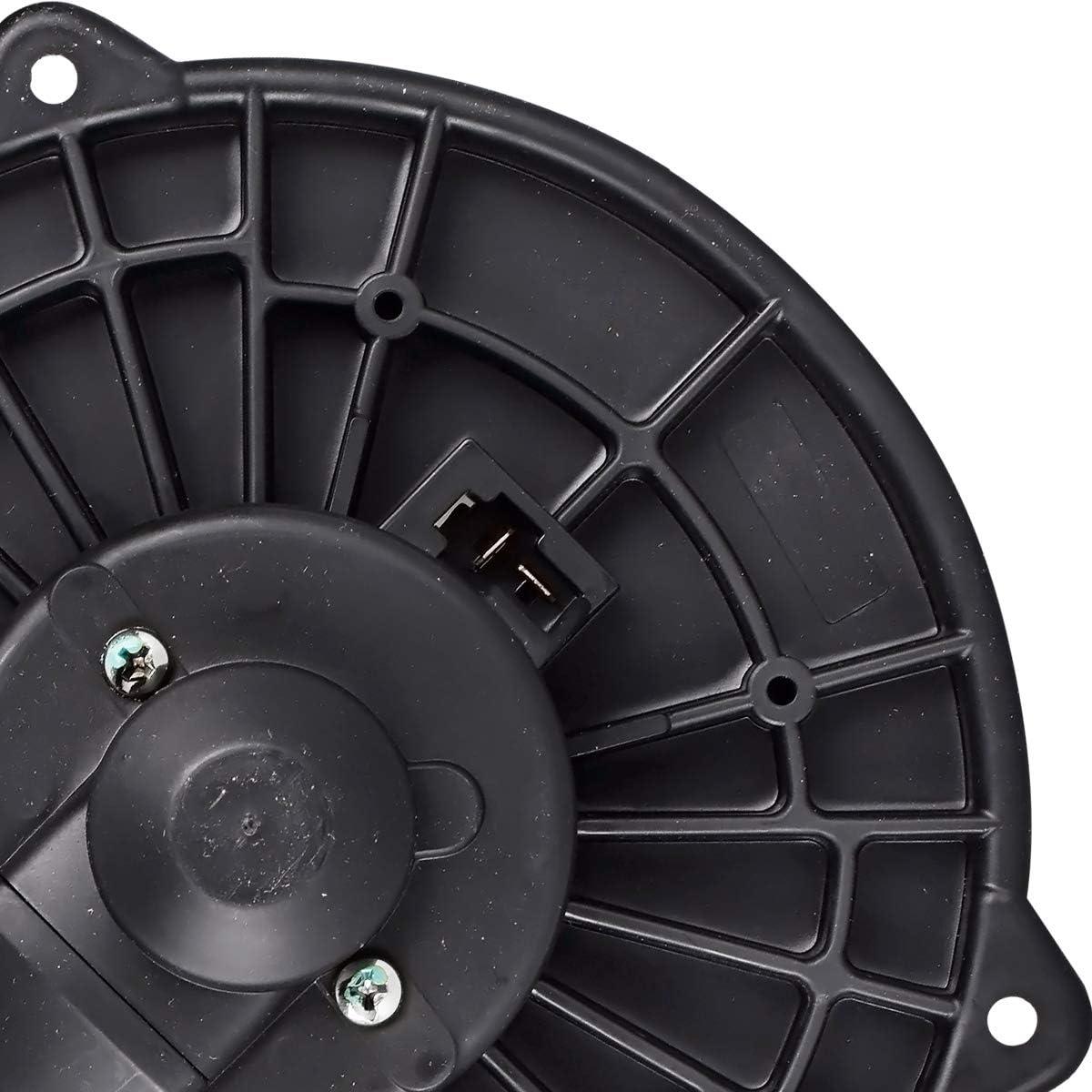 79310S5DA01 FAERSI HVAC Plastic Heater Blower Motor with Fan Cage Compatible with 2001-2005 Honda Civic,2001-2005 Acura EL,2002-2006 Honda CR-V,2003-2011 Honda Element Replaces 700005