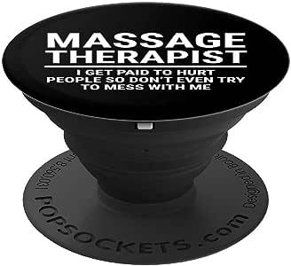 Amazon.com: Funny Massage Therapist Gift Get Paid To Hurt ...